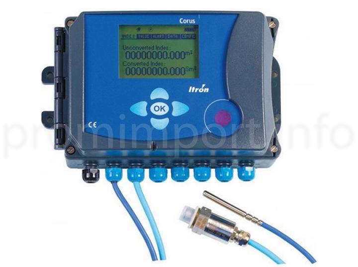 Электронные корректоры объема газа Corus