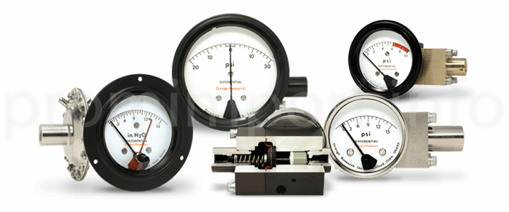 Приборы для измерения дифференциального давления Orange Research